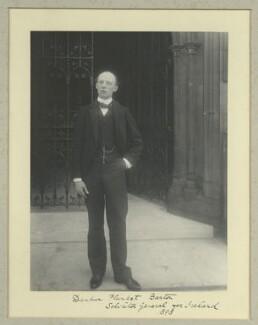 Sir (Dunbar) Plunket Barton, 1st Bt, by Benjamin Stone - NPG x36465