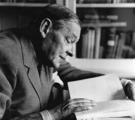 T.S. Eliot, by Ida Kar - NPG x88526