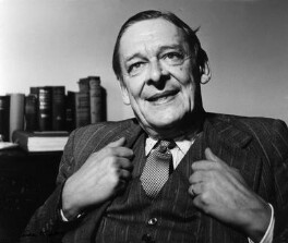 T.S. Eliot, by Ida Kar - NPG x88527