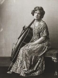 Beatrice Bohun Harrison, by Dorothy Wilding - NPG x36711