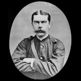 Herbert Kitchener, 1st Earl Kitchener, by York & Son, after  Elliott & Fry - NPG x3675