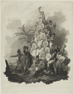 The British Army in Egypt, by Anthony Cardon, after  Philippe Jacques de Loutherbourg, published 1806 - NPG D1368 - © National Portrait Gallery, London