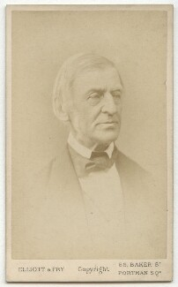 Ralph Waldo Emerson, by Elliott & Fry - NPG x3680