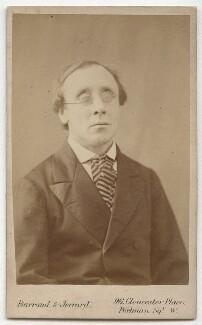 Henry Fawcett, by Barraud & Jerrard, mid-late 1870s - NPG x3681 - © National Portrait Gallery, London