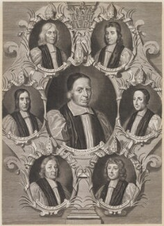 The Seven Bishops Committed to the Tower in 1688, by Robert White, 1689 - NPG D1333 - © National Portrait Gallery, London