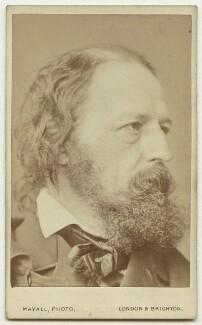 Alfred, Lord Tennyson, by John Jabez Edwin Mayall - NPG x3686
