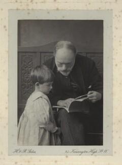 Denis George Mackail; Sir Edward Burne-Jones, by Henry & Richard Stiles - NPG x3691