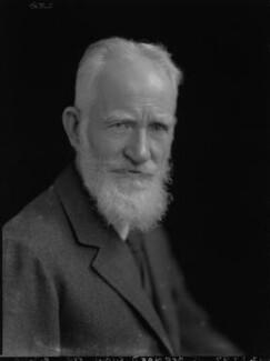 George Bernard Shaw, by Lafayette - NPG x37026