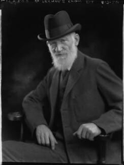 George Bernard Shaw, by Lafayette - NPG x37028