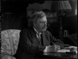 G.K. Chesterton, by Lafayette - NPG x37031