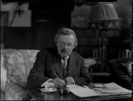 G.K. Chesterton, by Lafayette - NPG x37032