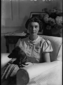 Joan Waugh (née Chirnside), by Bassano Ltd - NPG x37306