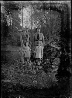Alec Waugh; Veronica Keeling (née Waugh); Joan Waugh (née Chirnside); Andrew Alexander Waugh, by Bassano Ltd - NPG x37307