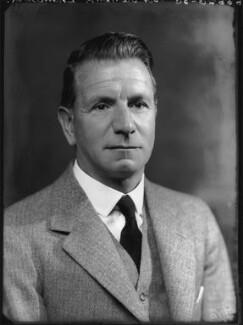 Sir Francis Vernon Thomson, 1st Bt, by Bassano Ltd - NPG x37394