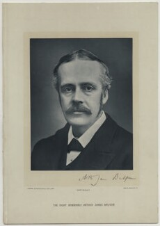 Arthur James Balfour, 1st Earl of Balfour, by London Stereoscopic & Photographic Company - NPG x374