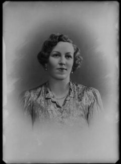 Esther Isabella Madeleine (née Hall), Lady Gisborough, by Bassano Ltd - NPG x37407