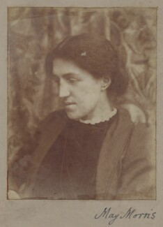 May Morris, by Unknown photographer - NPG x3741