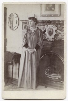 Jane Alice ('Jenny') Morris, by Unknown photographer - NPG x3742
