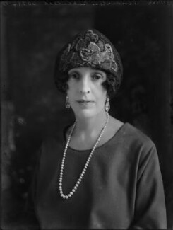 Margaret Eleanor (née Furneaux), Viscountess Birkenhead, by Bassano Ltd - NPG x37476