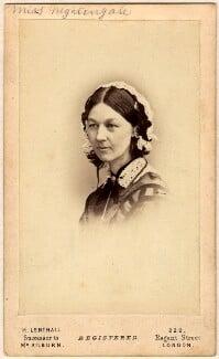 Florence Nightingale, by William Edward Kilburn, (circa 1856) - NPG x46634 - © National Portrait Gallery, London