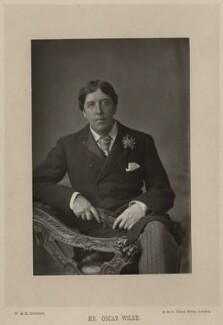 Oscar Wilde, by W. & D. Downey - NPG x27397
