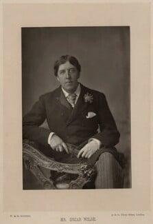 Oscar Wilde, by W. & D. Downey, 28 May 1889, published 1891 - NPG  - © National Portrait Gallery, London