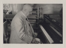 Jean Sibelius, by Unknown photographer - NPG x3787