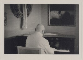Jean Sibelius, by Unknown photographer - NPG x3788