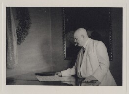 Jean Sibelius, by Unknown photographer - NPG x3789