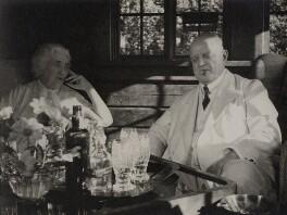 Jean Sibelius; Aino Sibelius (née Järnefelt), by Unknown photographer - NPG x3791