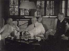 Rudolf Holsti; Jean Sibelius; Aino Sibelius (née Järnefelt), by Unknown photographer - NPG x3792