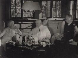 Rudolf Holsti; Jean Sibelius; Aino Sibelius (née Järnefelt), by Unknown photographer - NPG x3792