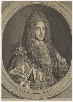 Prince James Francis Edward Stuart, by Louise Madeleine Cochin (née Horthemels), after  Alexis Simon Belle - NPG D10696