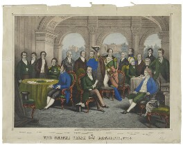 The United Irish Patriots of 1798, after Unknown artist, 1798 or after - NPG D10700 - © National Portrait Gallery, London