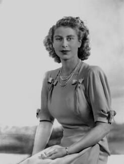 Queen Elizabeth II; Prince Philip, Duke of Edinburgh, by Dorothy Wilding - NPG x38007