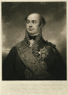 William Carr Beresford, Viscount Beresford, by Charles Turner, after  Sir William Beechey - NPG D10704