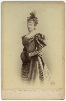 Augusta Victoria, Empress of Germany and Queen of Prussia, by Julius Cornelius Schaarwächter, 1895 - NPG x3811 - © National Portrait Gallery, London