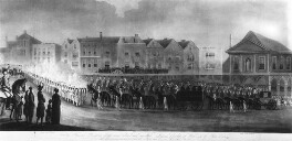 The Funeral Procession of the Much Beloved and Regretted Princess Charlotte of Wales and of Saxe Coburg, by Thomas Sutherland, after  Richard Barrett Davis - NPG D10707