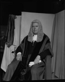 Sir Carl Douglas Aarvold, by Paul Laib - NPG x38184