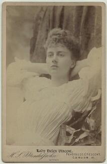 Helen Venetia (née Duncombe), Viscountess D'Abernon, by Hayman Seleg Mendelssohn - NPG x3819