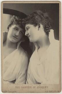 Priscilla Cecilia (née Moore), Countess Annesley, by Alexander Bassano, circa 1891 - NPG x3820 - © National Portrait Gallery, London