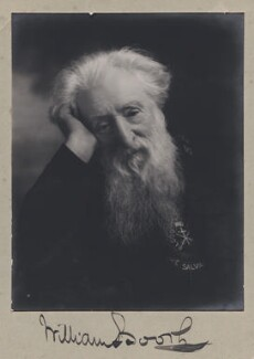 William Booth, by Ernest Herbert ('E.H.') Mills,  - NPG x38282 - © National Portrait Gallery, London