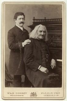 Emil Bach; Franz Liszt, by W. & D. Downey - NPG x38391