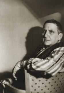 Gertrude Stein, by Gordon Anthony - NPG x38427