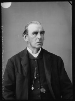 Hon. George Bourke, by Alexander Bassano - NPG x385