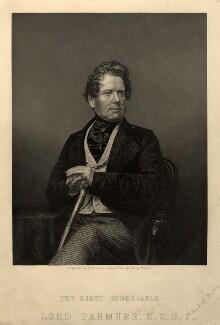 Fox Maule-Ramsay, 2nd Baron Panmure and 11th Earl of Dalhousie, by Daniel John Pound, after  John Jabez Edwin Mayall - NPG D10719