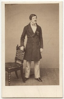 Stapleton Cotton, 1st Viscount Combermere, by Maull & Polyblank, early 1860s - NPG x38978 - © National Portrait Gallery, London