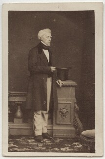 Henry Brougham, 1st Baron Brougham and Vaux, by John Jabez Edwin Mayall, 1860 - NPG x38989 - © National Portrait Gallery, London