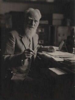 George Bernard Shaw, by Olive Edis - NPG x38999