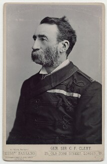 Sir Cornelius Francis Clery, by Alexander Bassano - NPG x39333